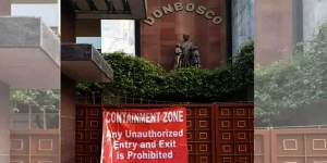 Assam:  After Teachers  test positive,  Don Bosco School in Guwahati declared Containment Zone