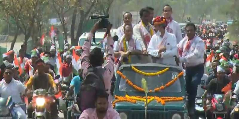 """Assam Assembly Election- Congress Launches """"5-guarantee"""" Yatra"""