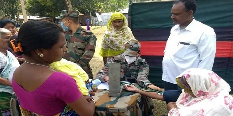 Assam: Army's Operation Sadhbhavan at Pancharatna in Goalpara