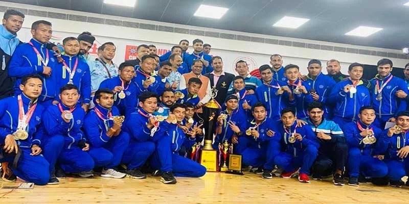 Meghalaya: Service Team of Assam Regimental Centre Wins 29th Senior National Wushu Championship