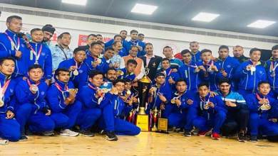 Meghalaya: Service Team of Assam Regimental Centre Wins 29th Senior National Wushu Championship