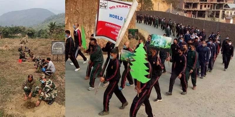 Manipur: Assam Rifles Observed World Wildlife Day