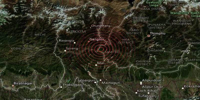 Earthquake of magnitude 5.4 hits Sikkim, Assam, Bihar, West Bengal