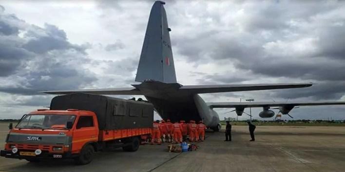 Raksha Mantri Rajnath Singh reviews Armed Forces efforts to tackle Cyclone Tauktae