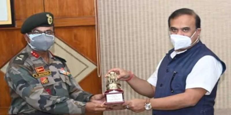 Assam, Himanta Biswa Sarma, NCC, Maj Gen Ananta Bhuyan