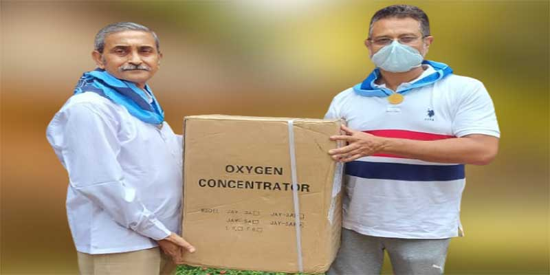 Sri Sathya Sai Seva Organisation sends more Oxygen Concentrators to Assam
