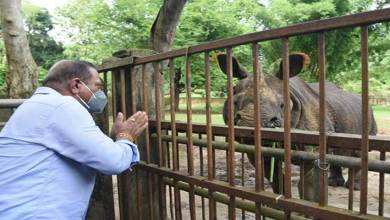 Minister Suklabaidya visits Assam State Zoo to take stock of health conditions of zoo keepers, animals