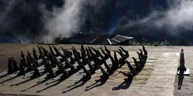 Indian Army observes International Day of Yoga in Arunachal Pradesh, Nagaland