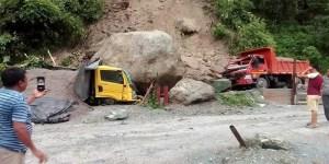 Sikkim, South sikkim, land slides