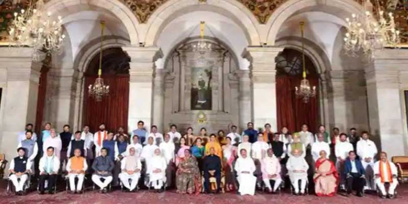 PM Modi Cabinet Reshuffle: full list of Ministers with their portfolios