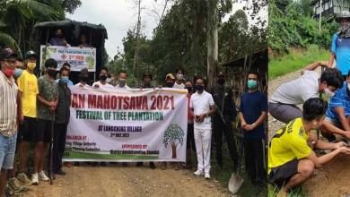 Manipur: Van Mahotsav observed by residents of langching village