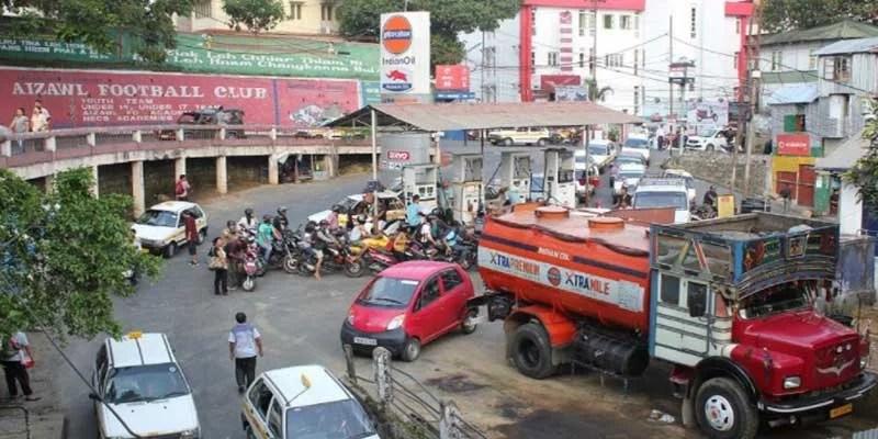 Mizoram stares at fuel shortage amid border row, orders rationing