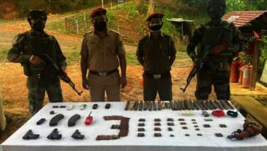 Mizoram: Assam Rifles recovers huge cache of Arms, Ammunition, foreign cigarettes and Heroin