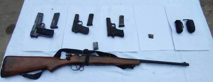 Assam: 4 arrested with arms and ammunition in Karbi Anglong