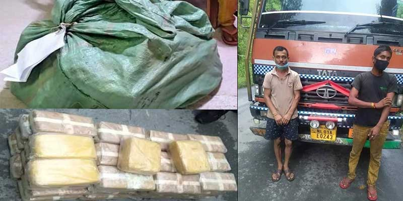Mizoram: Two arrested with Drugs worth Rs 10 crore