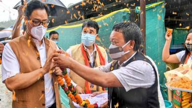 Union Minister Kiren Rijiju calls for status quo by NE states on interstate boundary issue