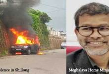 Meghalaya CM home attacked, Home minister quits, Curfew in Shillong, Internet banned