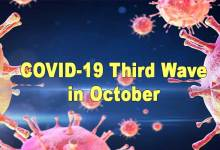 COVID-19 Third Wave Could Peak in October, MHA Panel to PMO
