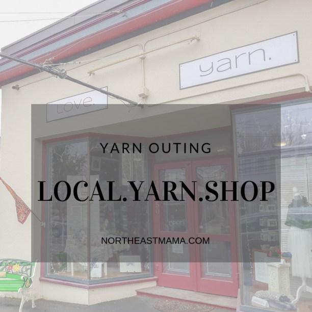 Storefront of Love.Yarn.Shop in Betheleham, NH