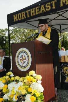 Class President Andrew DeCicco, of Melrose.(Courtesy Photo Northeast Metro Tech)
