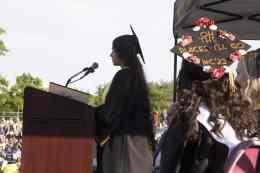 Valedictorian Amrit Kaur, of Malden. (Courtesy Photo Northeast Metro Tech)