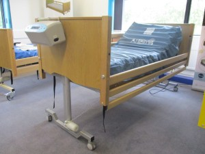 Bradshaw Low Bed with 3 Bar Loackable Side Rails