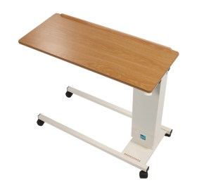 Easi Riser Adjustable Overbed Table with Wheels Standard Base