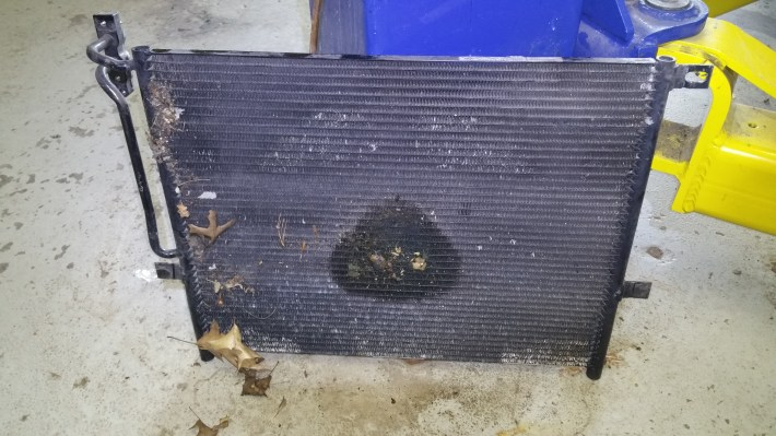 Air Conditioning Condenser Leaking