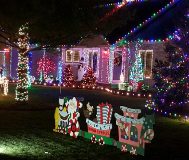 Christmas Lights In Huron Ohio