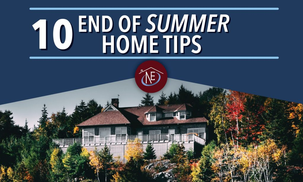 10 end of summer home tips