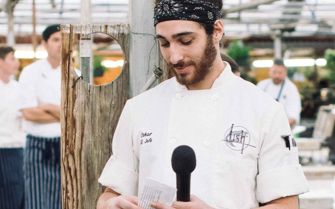 Featured Chef Oskar Arevalo of Fish Restaurant & Market
