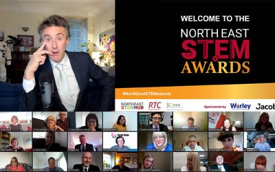 A night of success at the north east stem awards