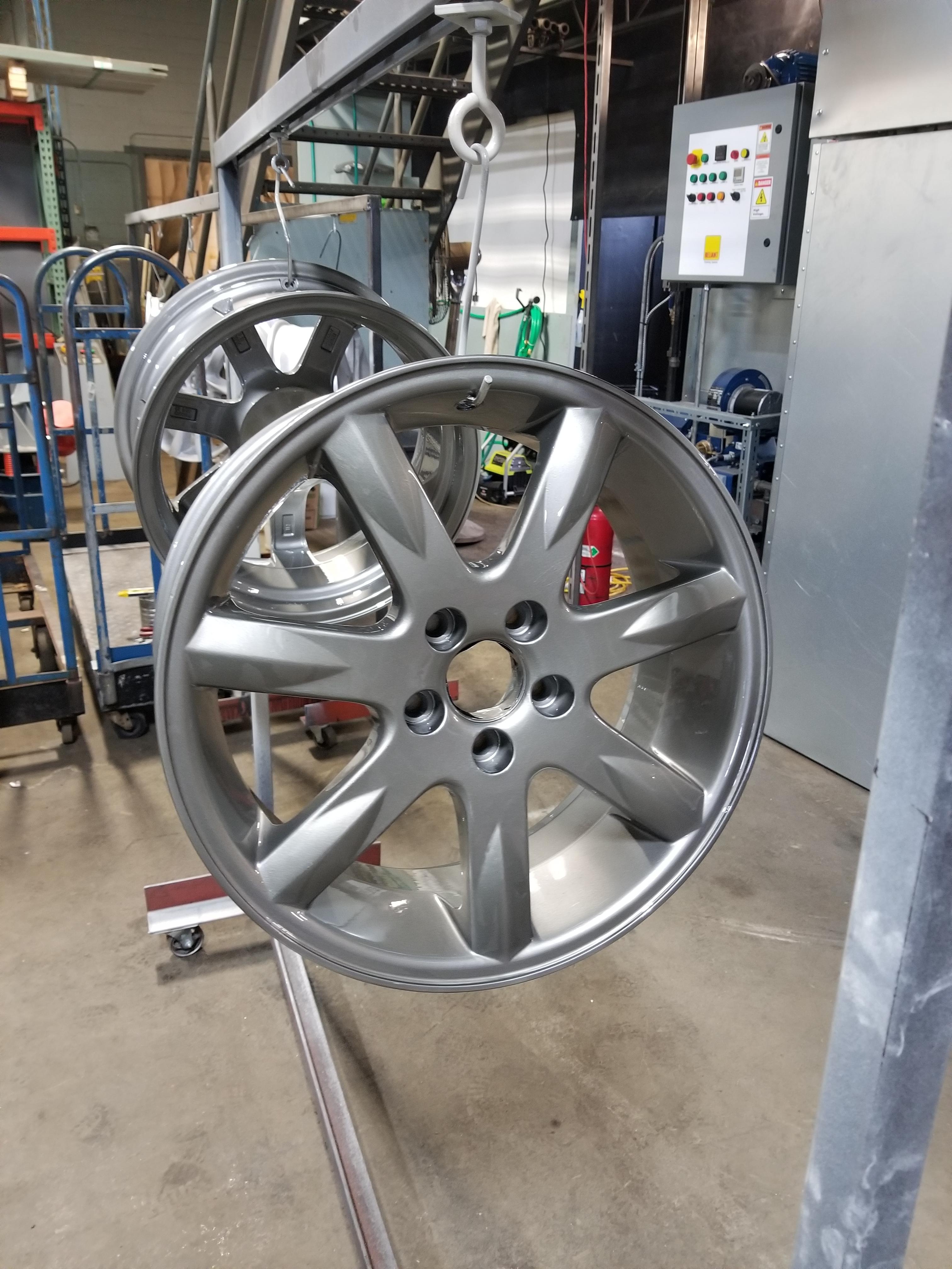 Silver Rims Refurbished