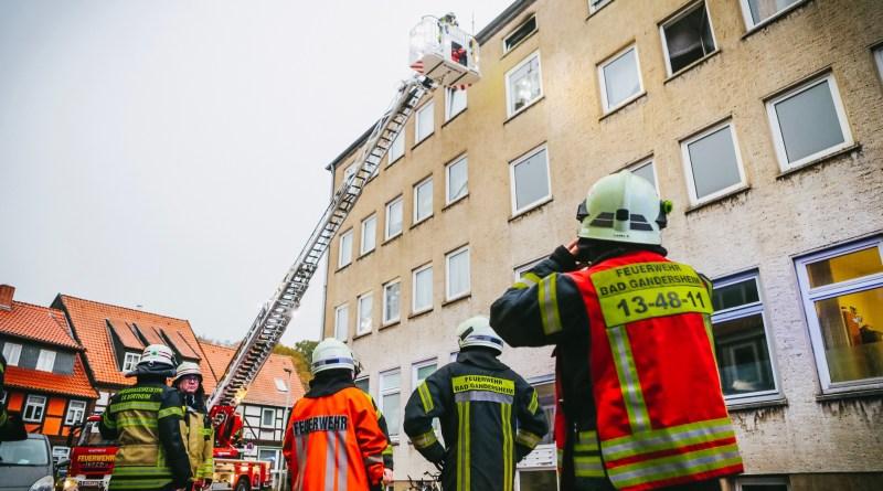 Polizei ermittelt nach Feuer in Bad Gandersheim