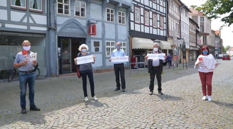 Northeimer Gästeführer führen wieder Gäste durch Northeim