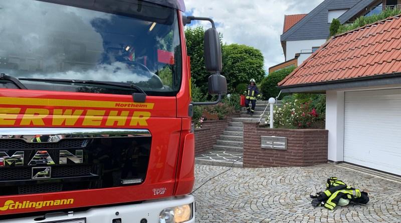 Northeimer Feuerwehr musste Kellerbrand nicht löschen