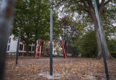 Die Martin-Luther-Schule in Northeim wird eingezäunt