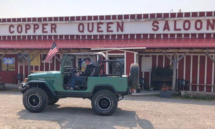 Toyota Landcruiser Copper Queen Saloon Helmville Montana