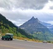 Toyota Landcruiser Glacier National Park Montana