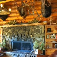 Trapper Peak Outfitters Fireplace