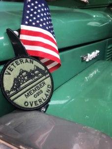 Veteran Overland Membership with flag