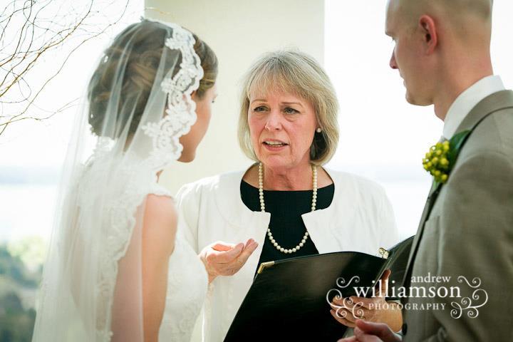 Rev. Crystal sharing wedding readings