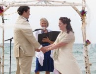 Onekema Beach wedding