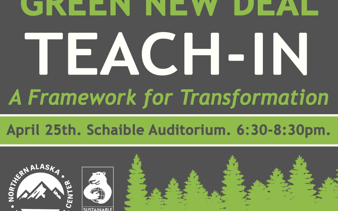 Green New Deal Teach-in