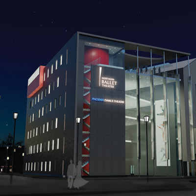 Artists Impression of New Building