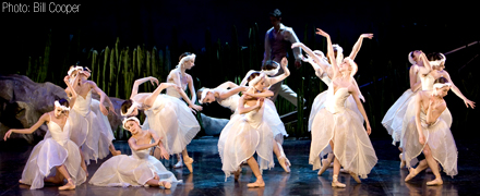 Scene From Swan Lake (Photo: Bill Cooper)