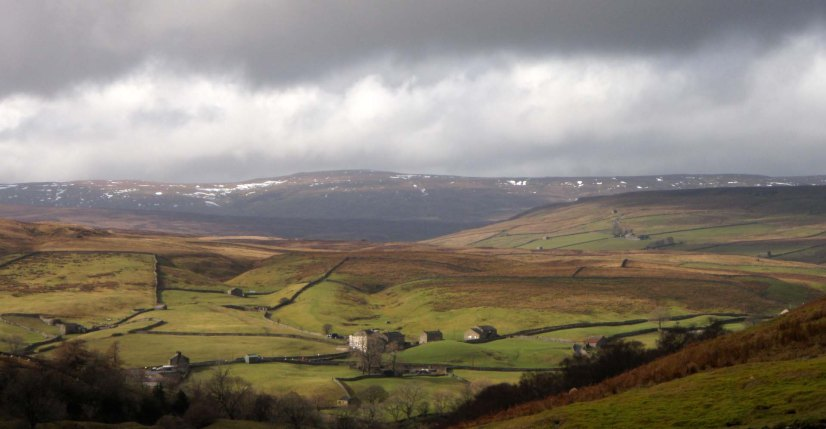 Keld from Crackpot Hall, Swaledale, Yorkshire