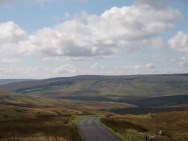 The Stang - descent on the Yorkshire side into Arkengarthdale
