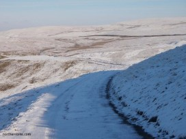road over oxnop scar