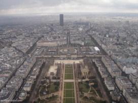 paris - tour Eiffel - champs de mars